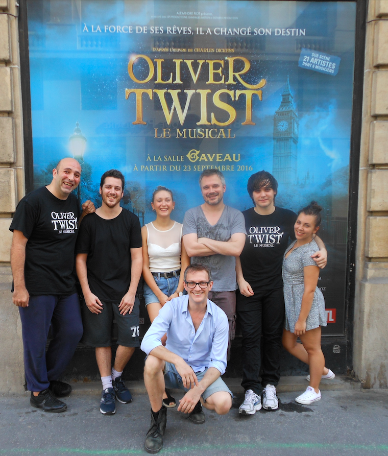 troupe oliver twist
