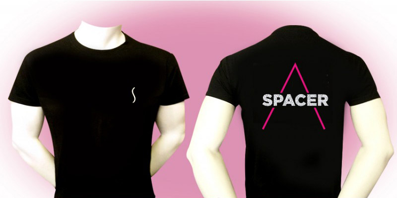 t shirt spacer